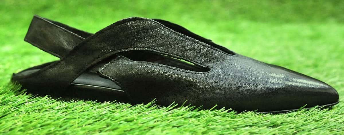 Ballerine in pelle nere   1725.a - scarpe made in Italy