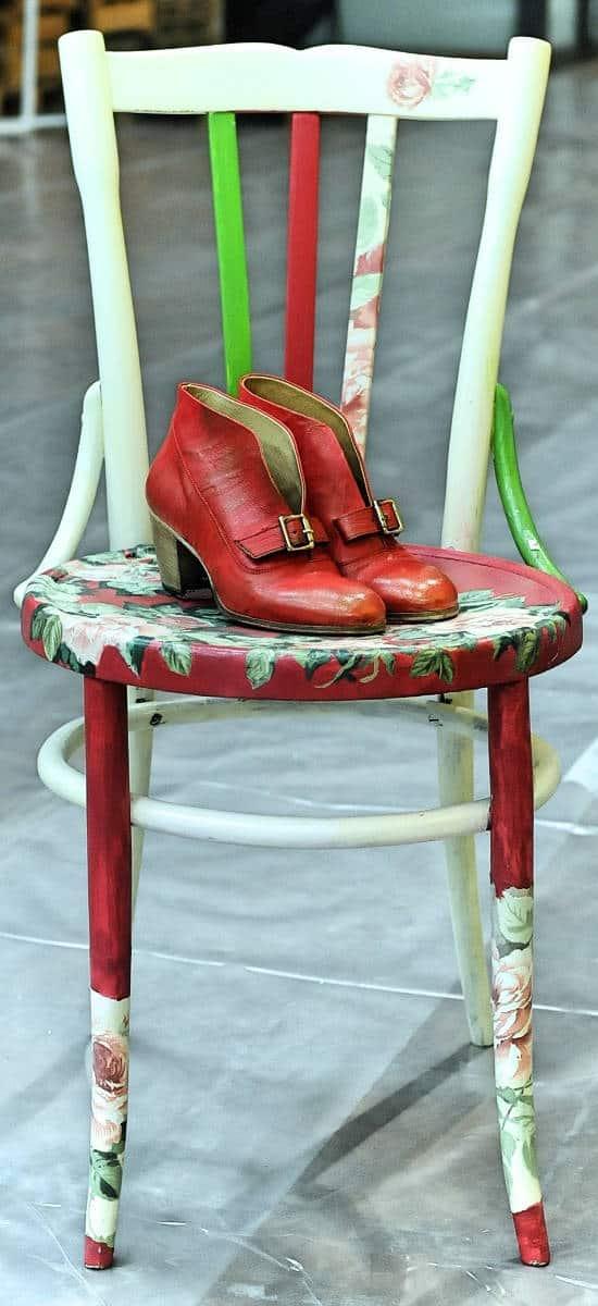 Stivaletti rossi donna in pelle | 1725.a - scarpe made in Italy