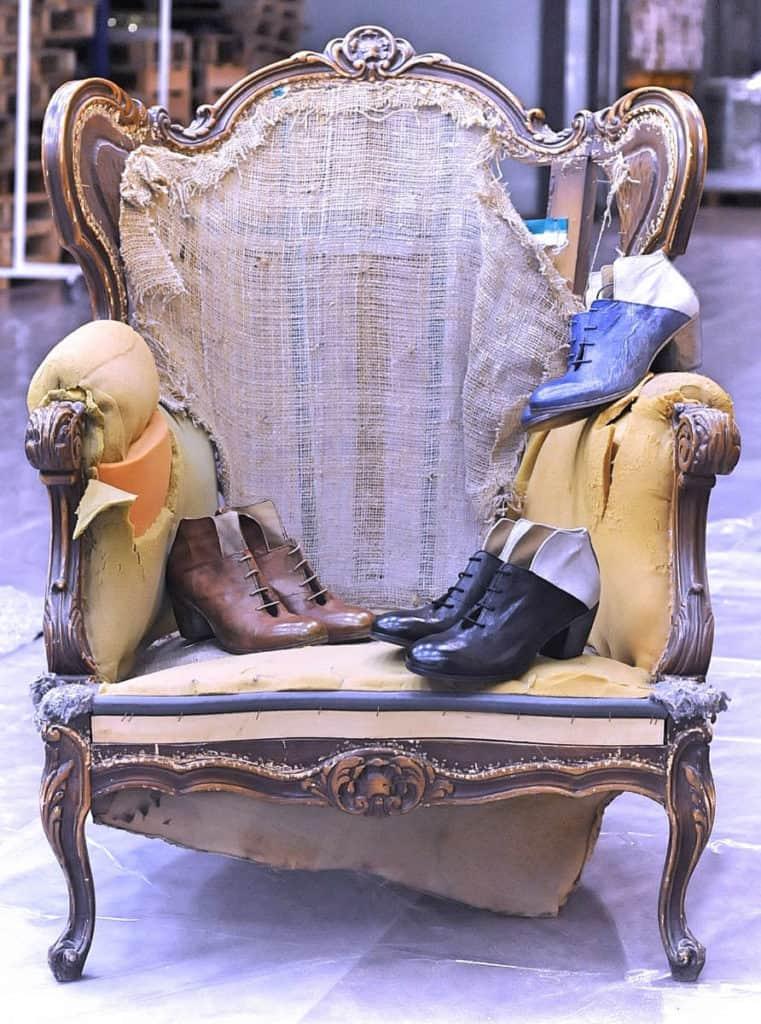 Stivaletti con stringhe donna in pelle | 1725.a - scarpe made in Italy
