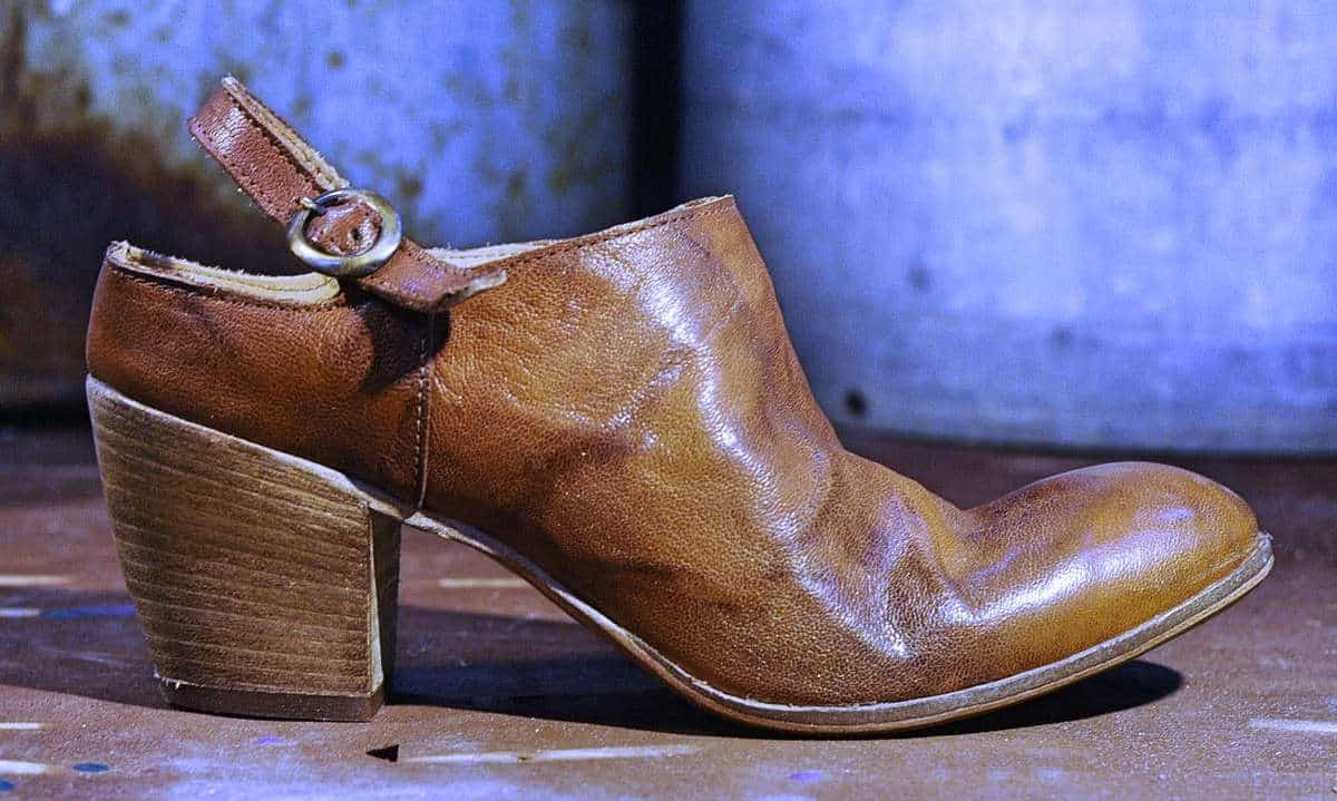 Sabot marrone in pelle | 1725.a - scarpe made in Italy