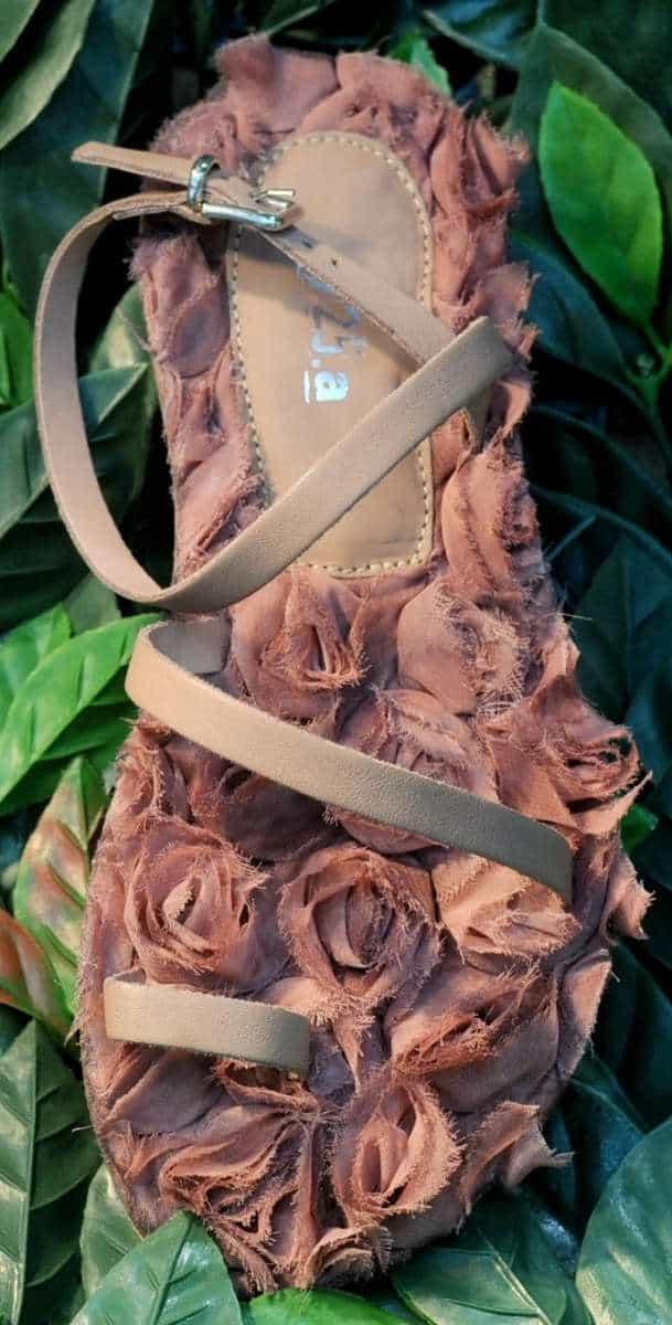 Sandalo rosa | 1725.a - scarpe made in Italy
