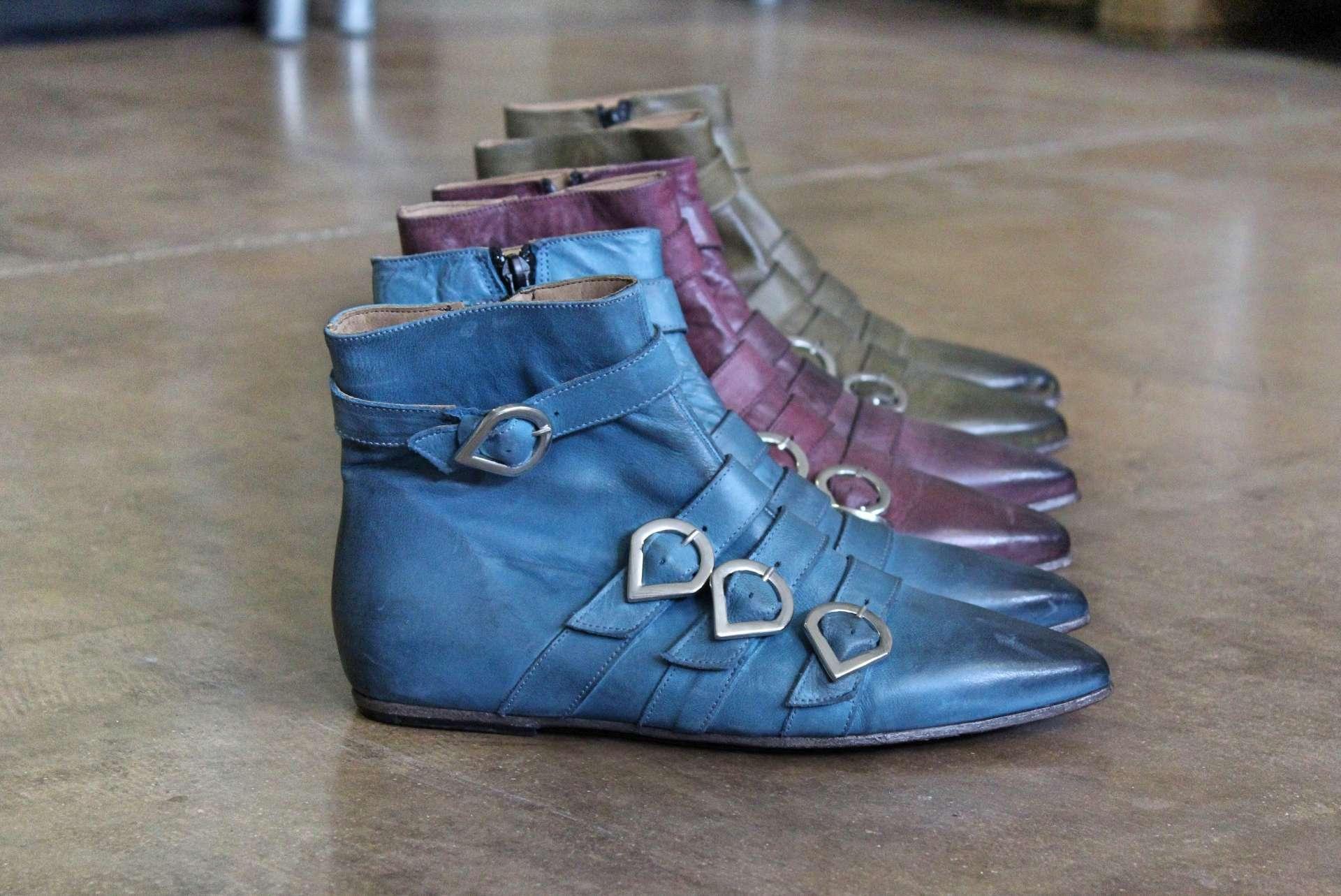 tronchetto blu | 1725.a - scarpe made in Italy