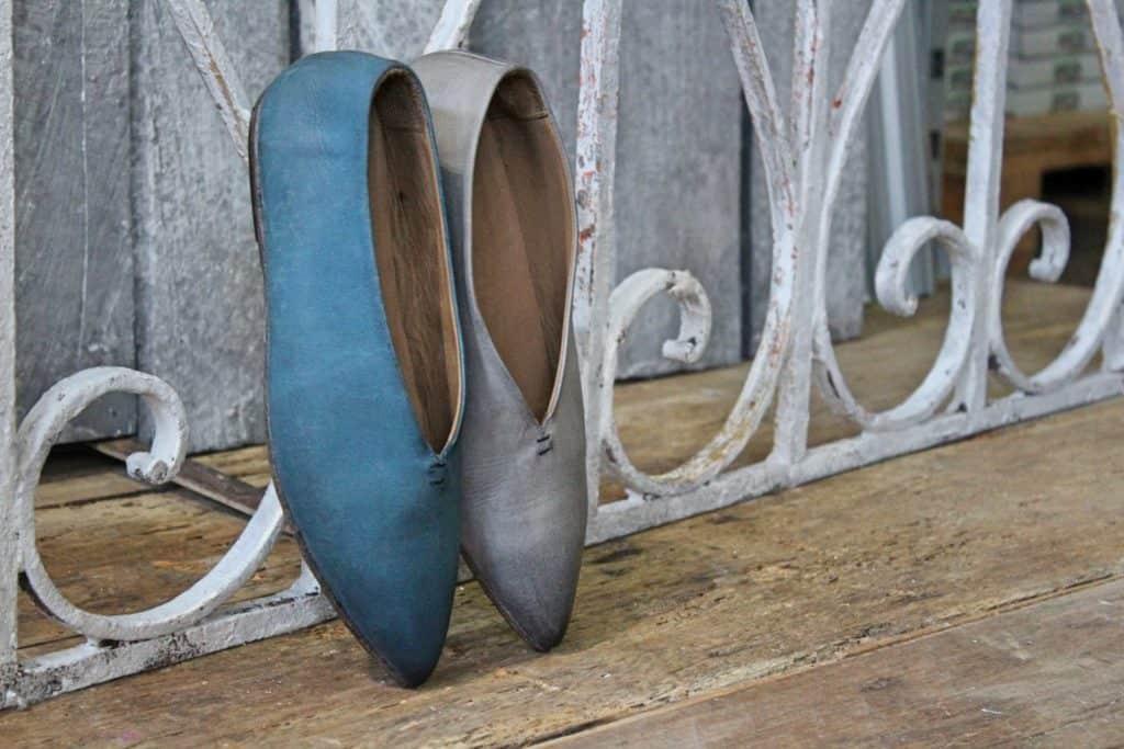 ballerine punta dettaglio | 1725.a - scarpe made in Italy