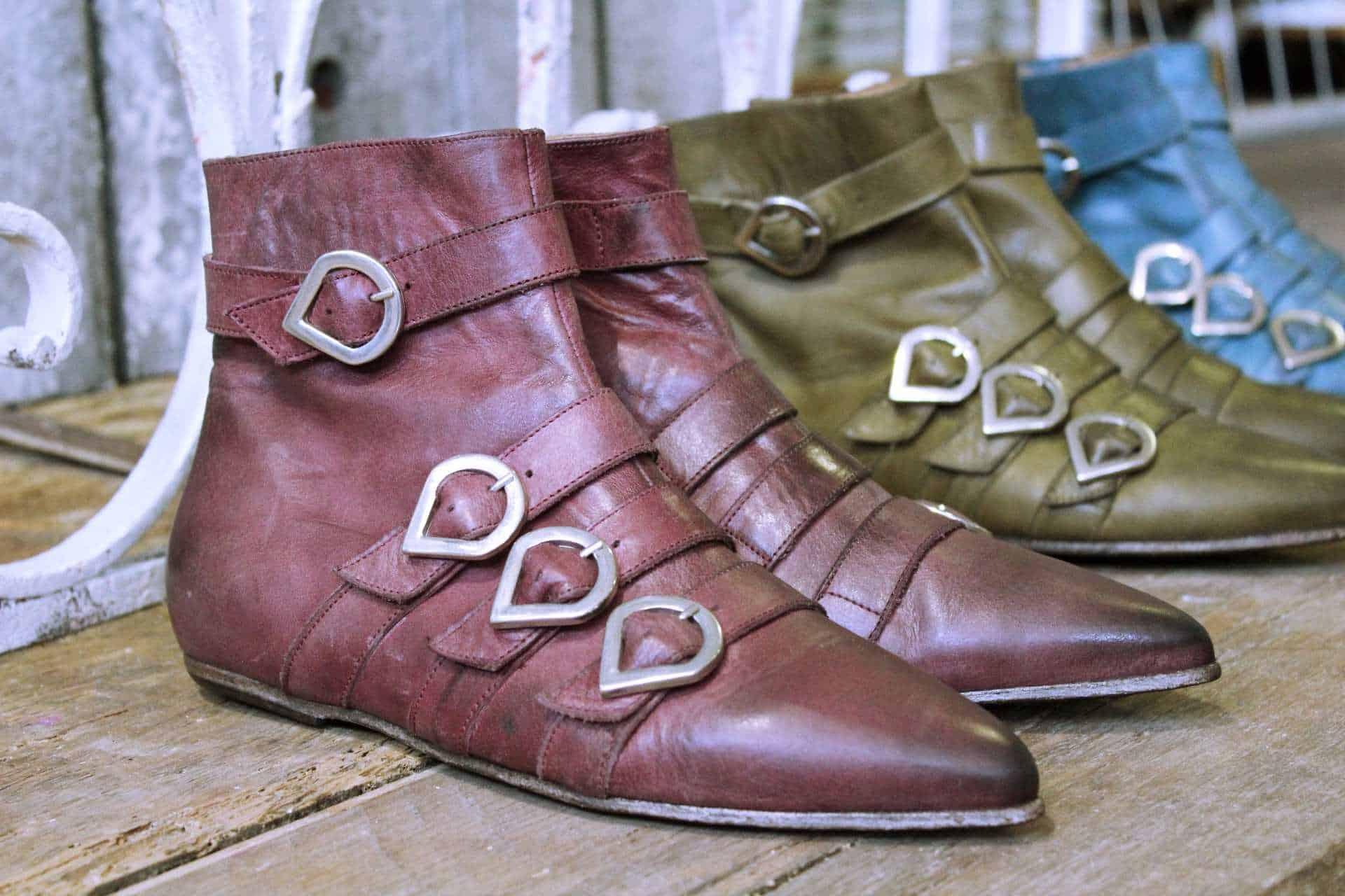 tronchetti invernali a punta | 1725.a - scarpe made in Italy