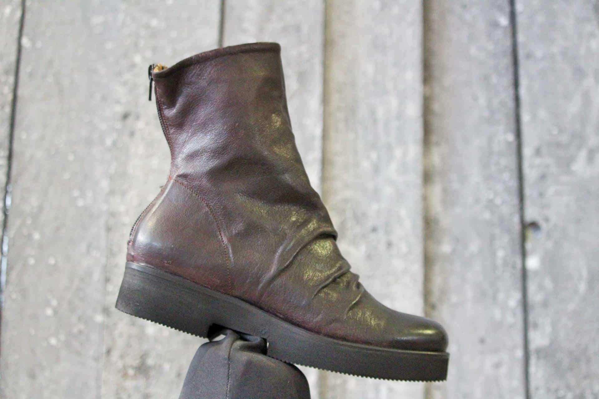 stivaletto liscio | 1725.a - scarpe made in Italy